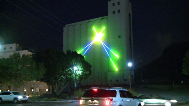 Mill laser installation demo