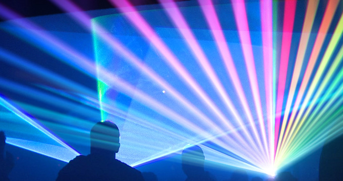Epic lasers at Eclectech in Phoenix