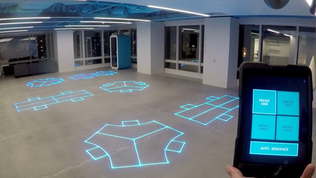 DesignHive architectural lasers